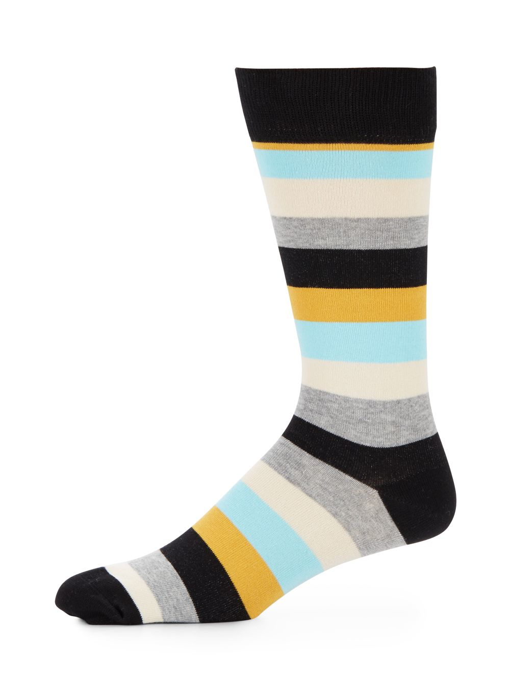 Happy socks Multicolored Striped Cotton-blend Socks for ...