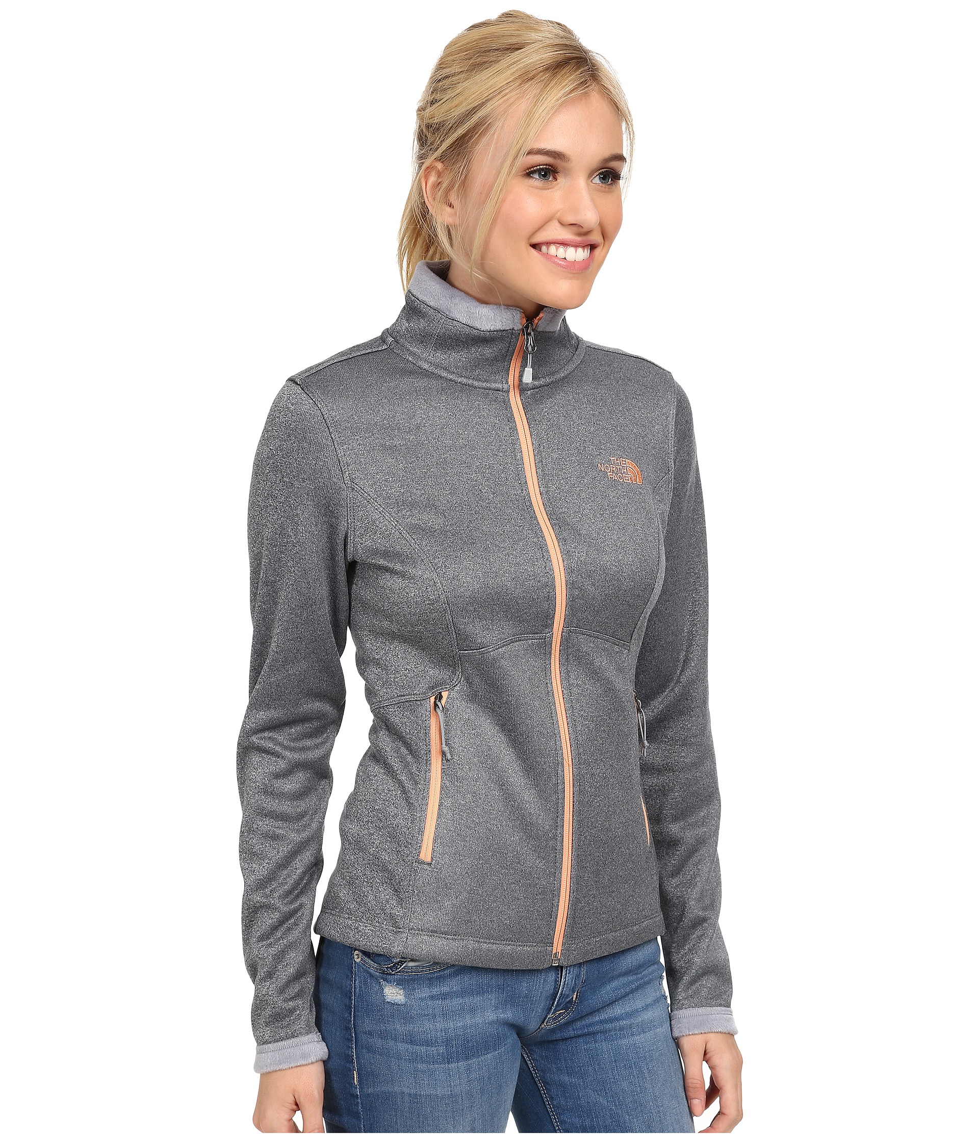668e23e8c435 ... cheap lyst the north face agave jacket in gray b50e9 f8268
