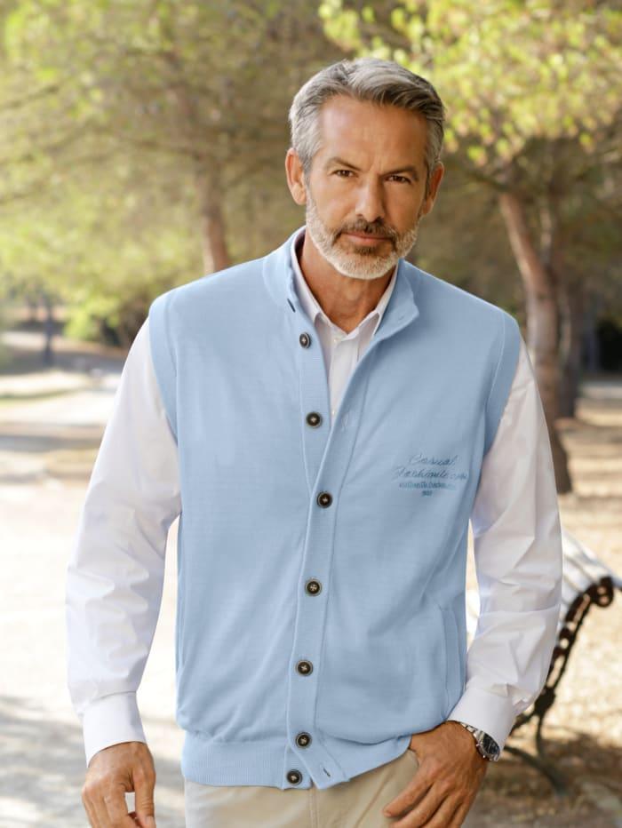 Babista Mouwloos Vest Lichtblauw in het Blauw voor heren