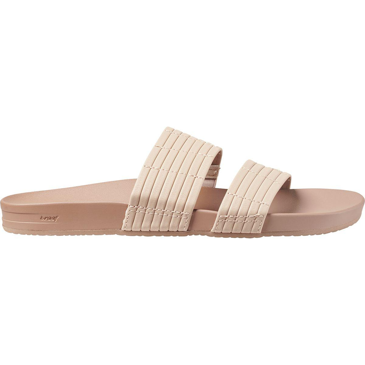 Reef Pink Cushion Bounce Slide Sandal