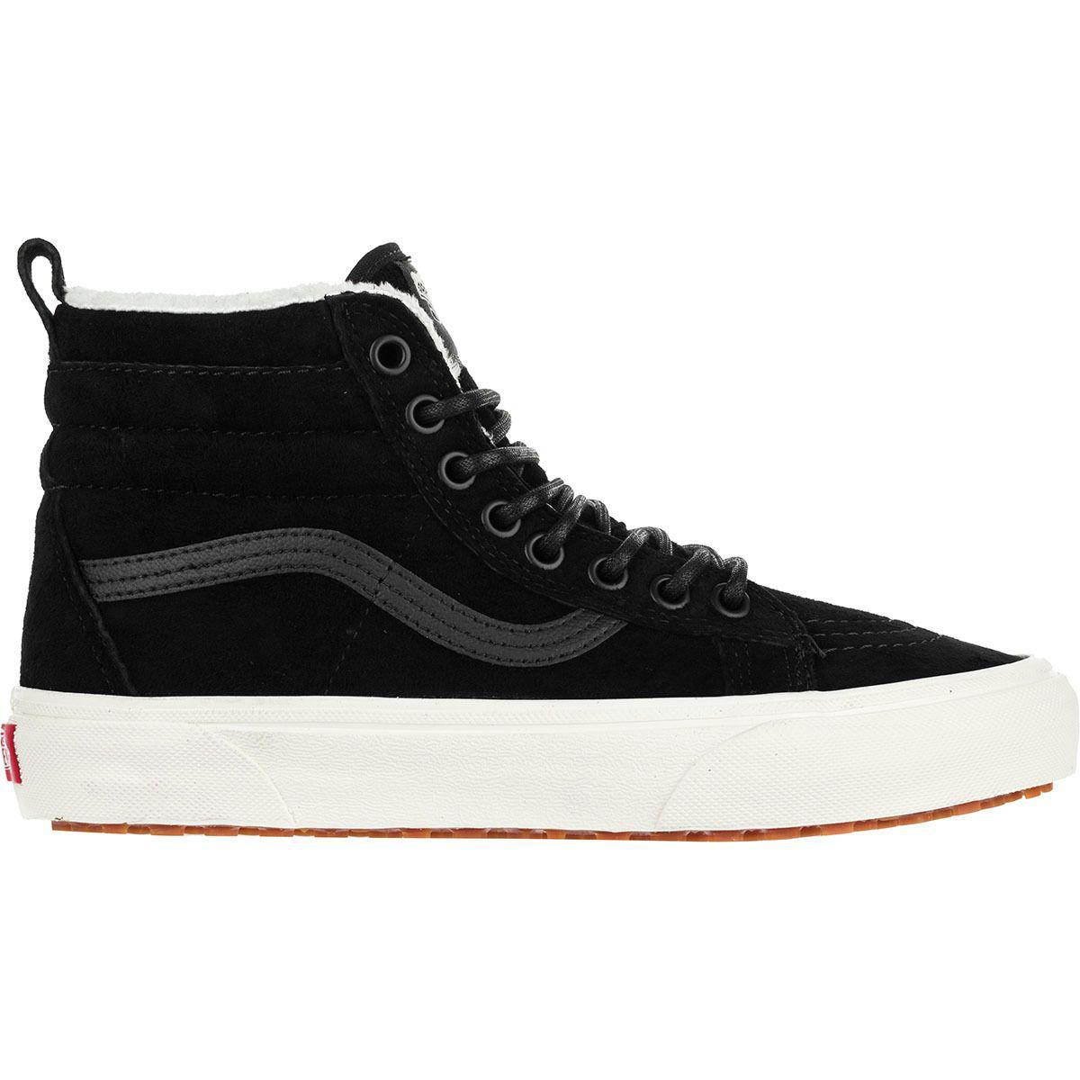 baa973c2cf Lyst - Vans Sk-8 Hi Mte Sneaker in Black - Save 20.224719101123597%