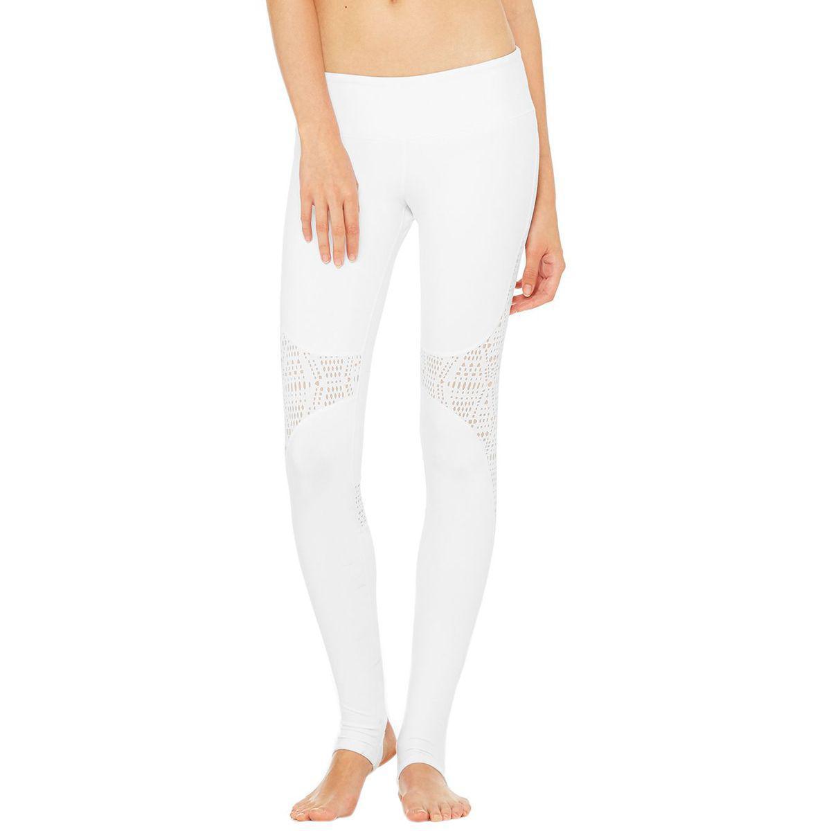 535be705597f0 Lyst - Alo Yoga West Coast Legging in White