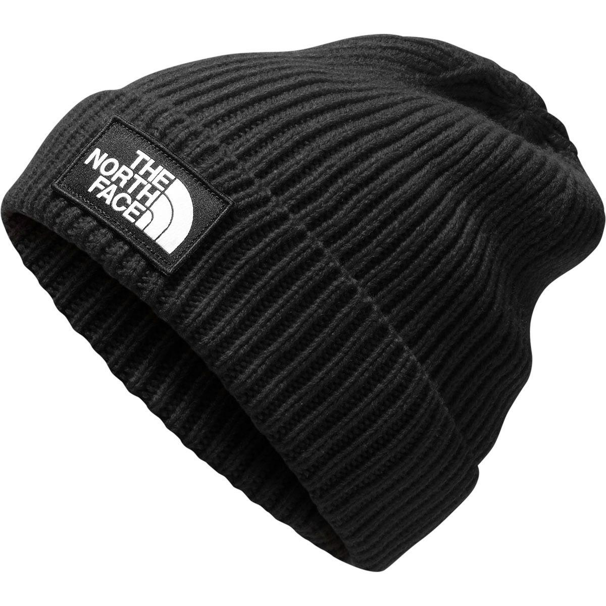 0ae9426b9 Men's Black Logo Box Cuffed Beanie