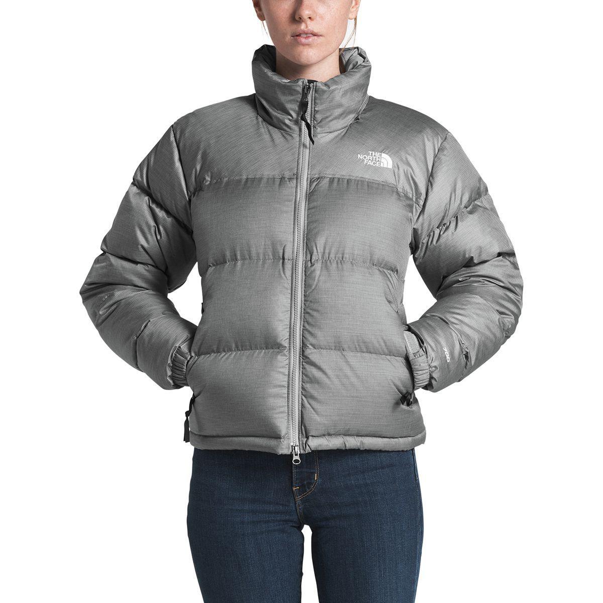 27b5ab7758 Lyst - The North Face 1996 Retro Nuptse Jacket in Gray