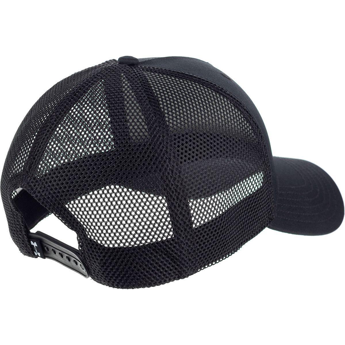4055c1b7b91 Lyst - Under Armour Outdoor Performance Trucker Hat in Black for Men