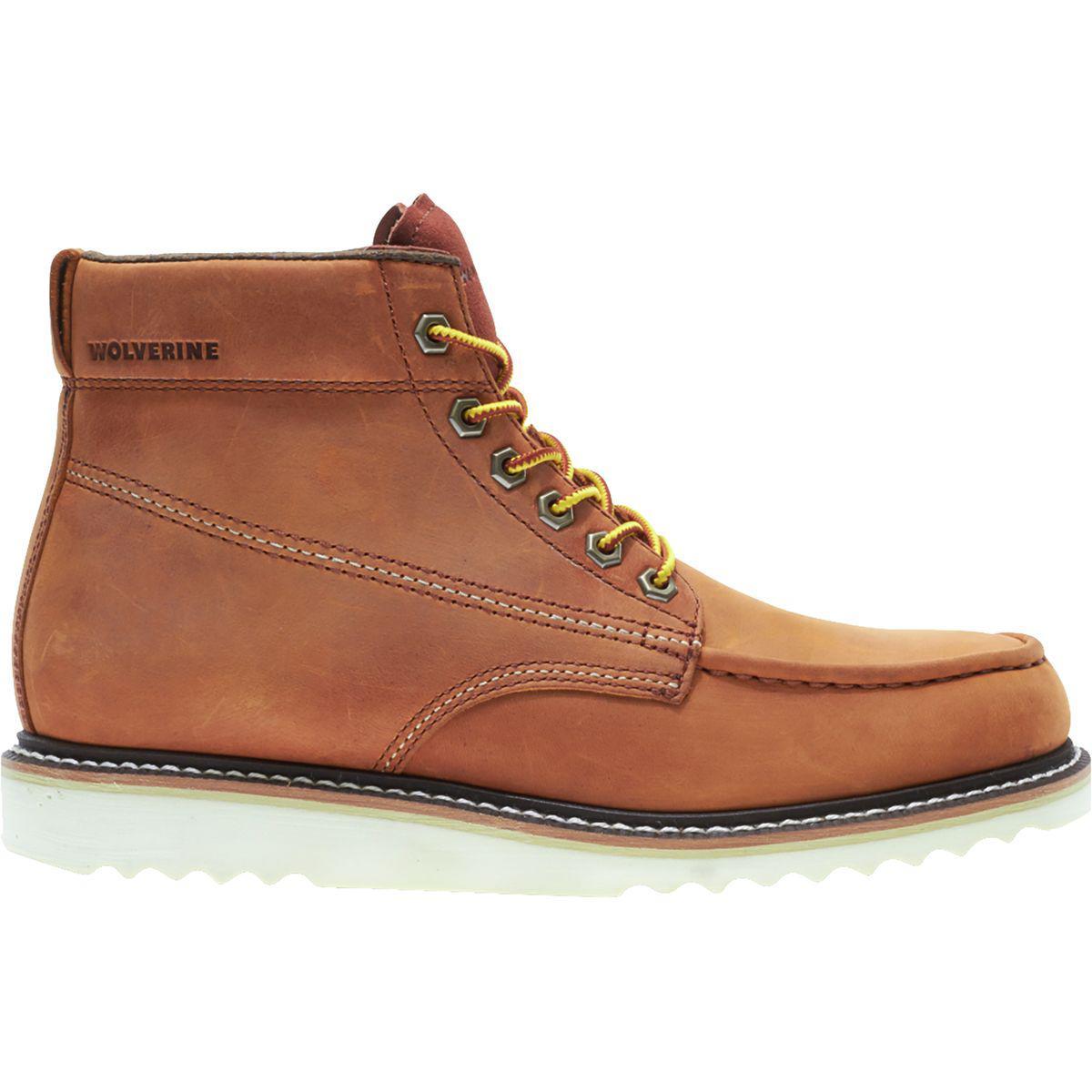 544e198b345 Wolverine Brown Ranger Moc Toe Boot for men