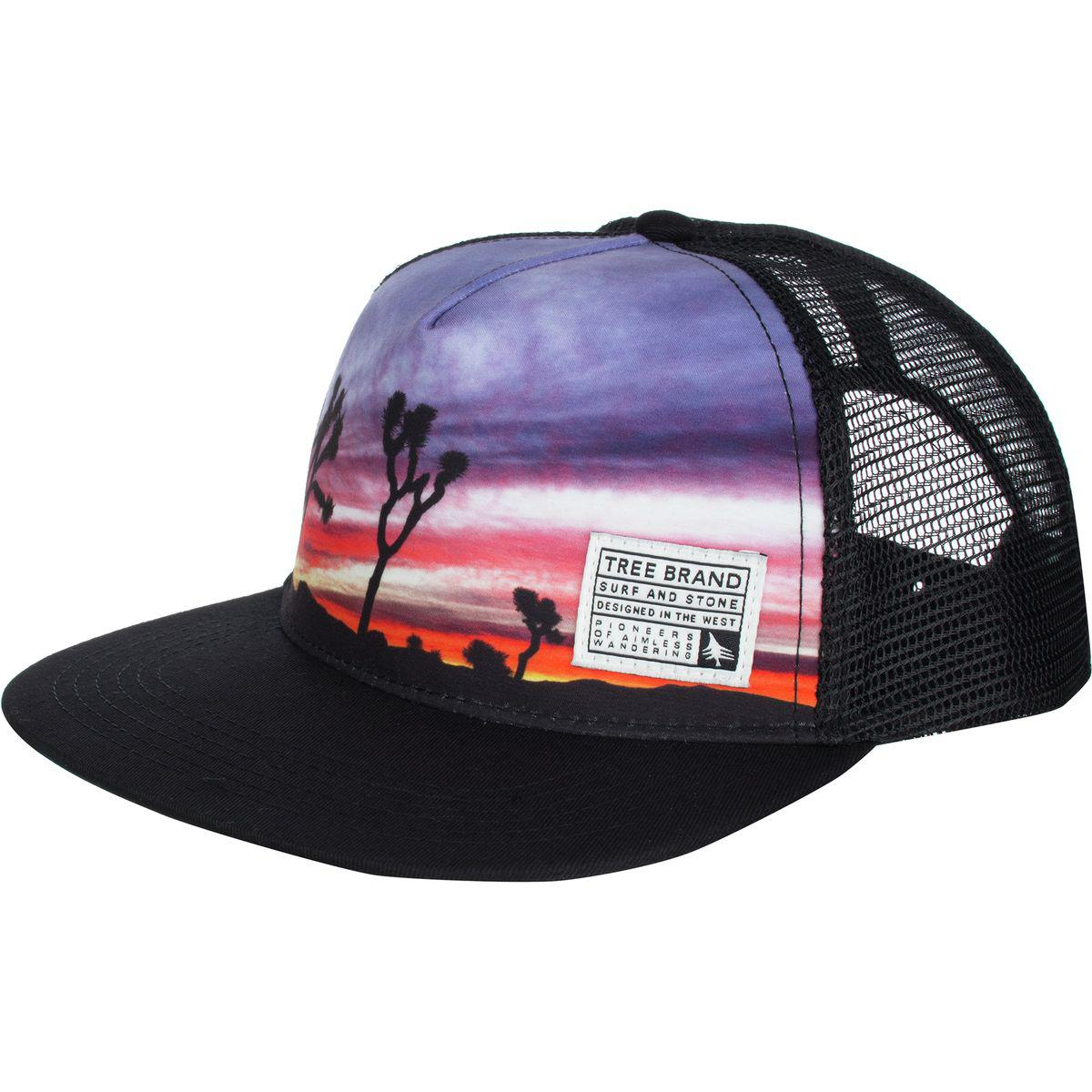 Lyst - HippyTree Palmdale Trucker Hat in Black for Men cc69122ecba2