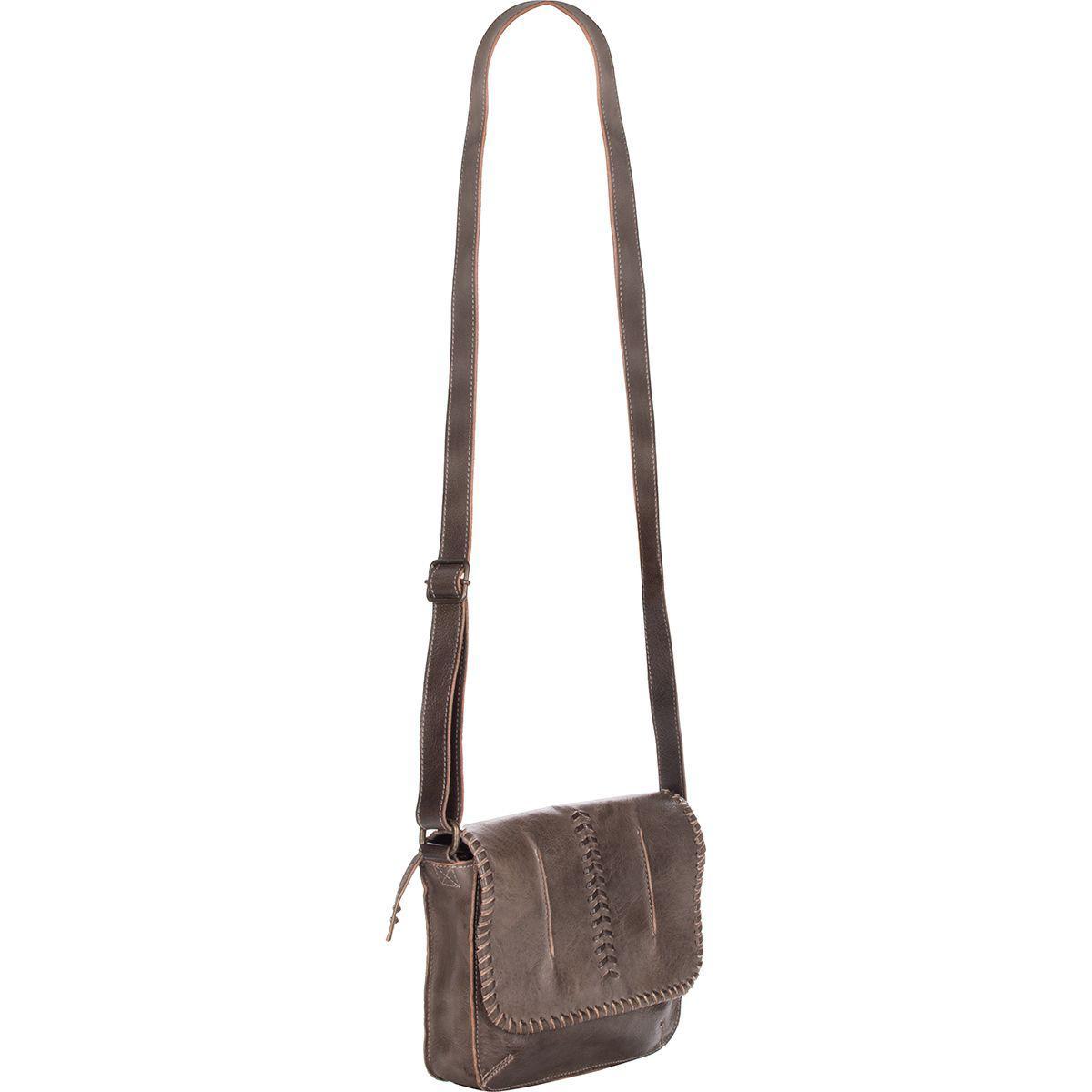 Bed Stu Brown Frankie Leather Crossbody Bag Lyst