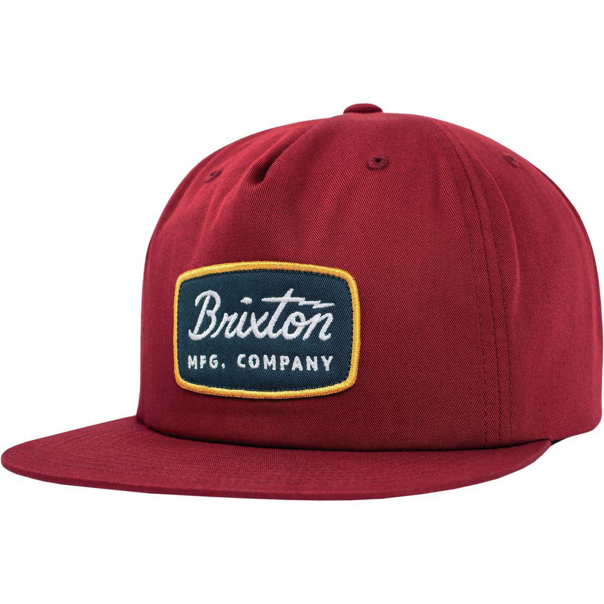 a72ef71f0e9 Lyst - Brixton Jolt Hp Snapback Hat in Red for Men