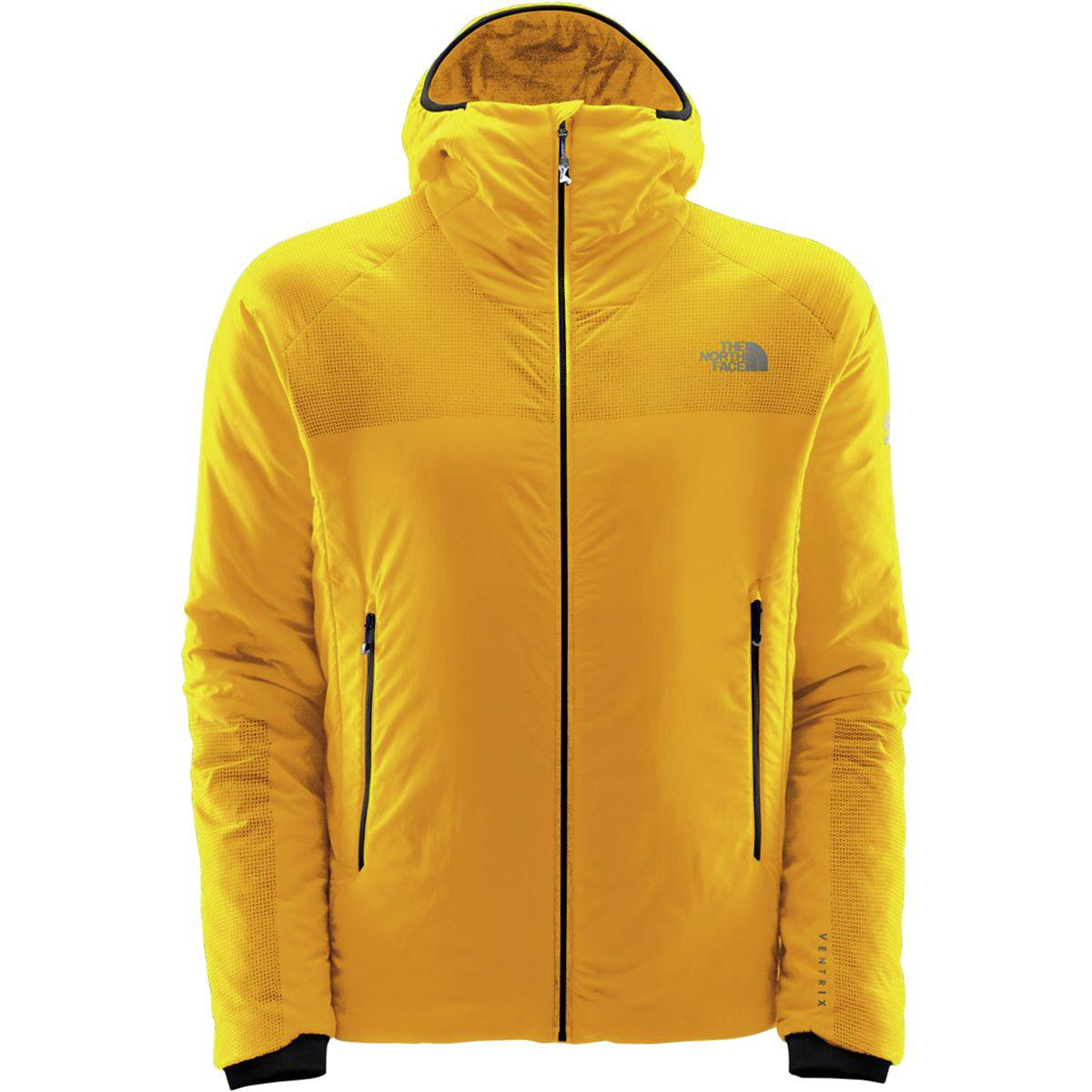 76732afaf The North Face Yellow Summit L3 Ventrix Hooded Insulated Jacket for men
