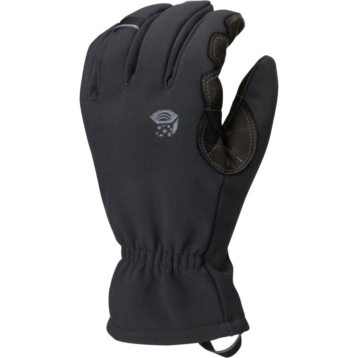 Mountain Hardwear Torsion Insulated Glove In Black Lyst
