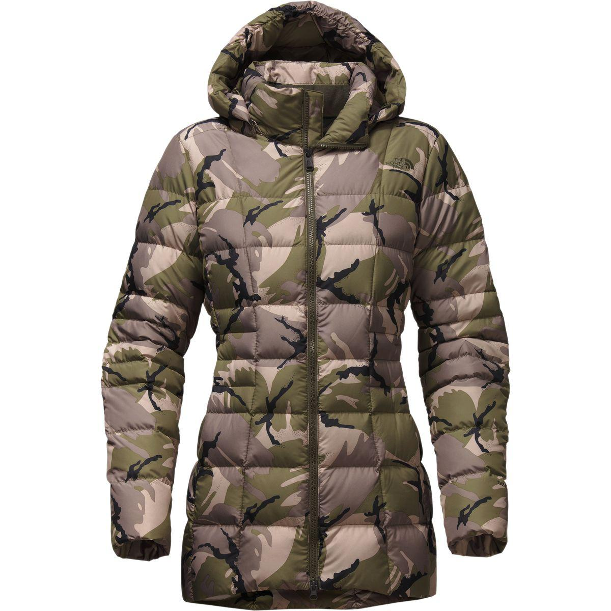 35ef5ad5a5a8 ... best price lyst the north face transit ii down jacket in green 83b68  72dc8