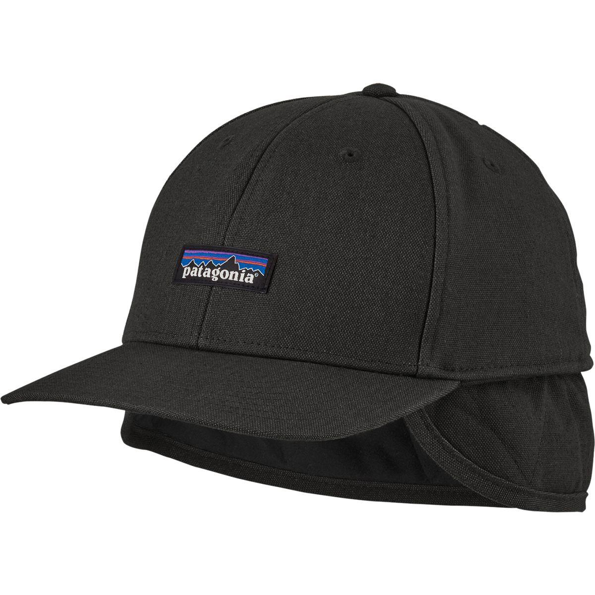 Patagonia Tin Shed Work Hat: Patagonia Cotton Insulated Tin Shed Cap In Black For Men