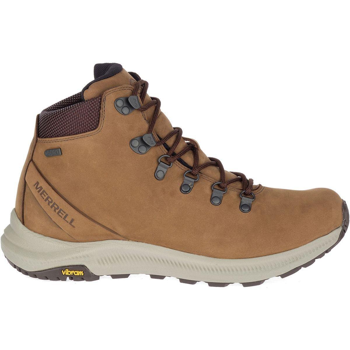 64327a31 Men's Brown Ontario Mid Waterproof Hiking Boot