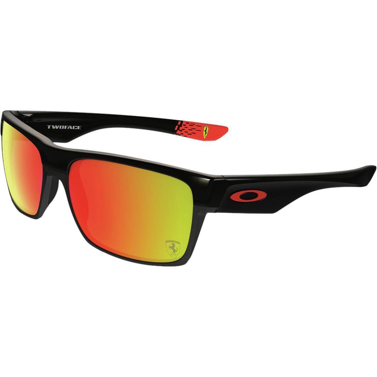 c5fdf09d8a Lyst - Oakley Twoface Sunglasses in Black for Men