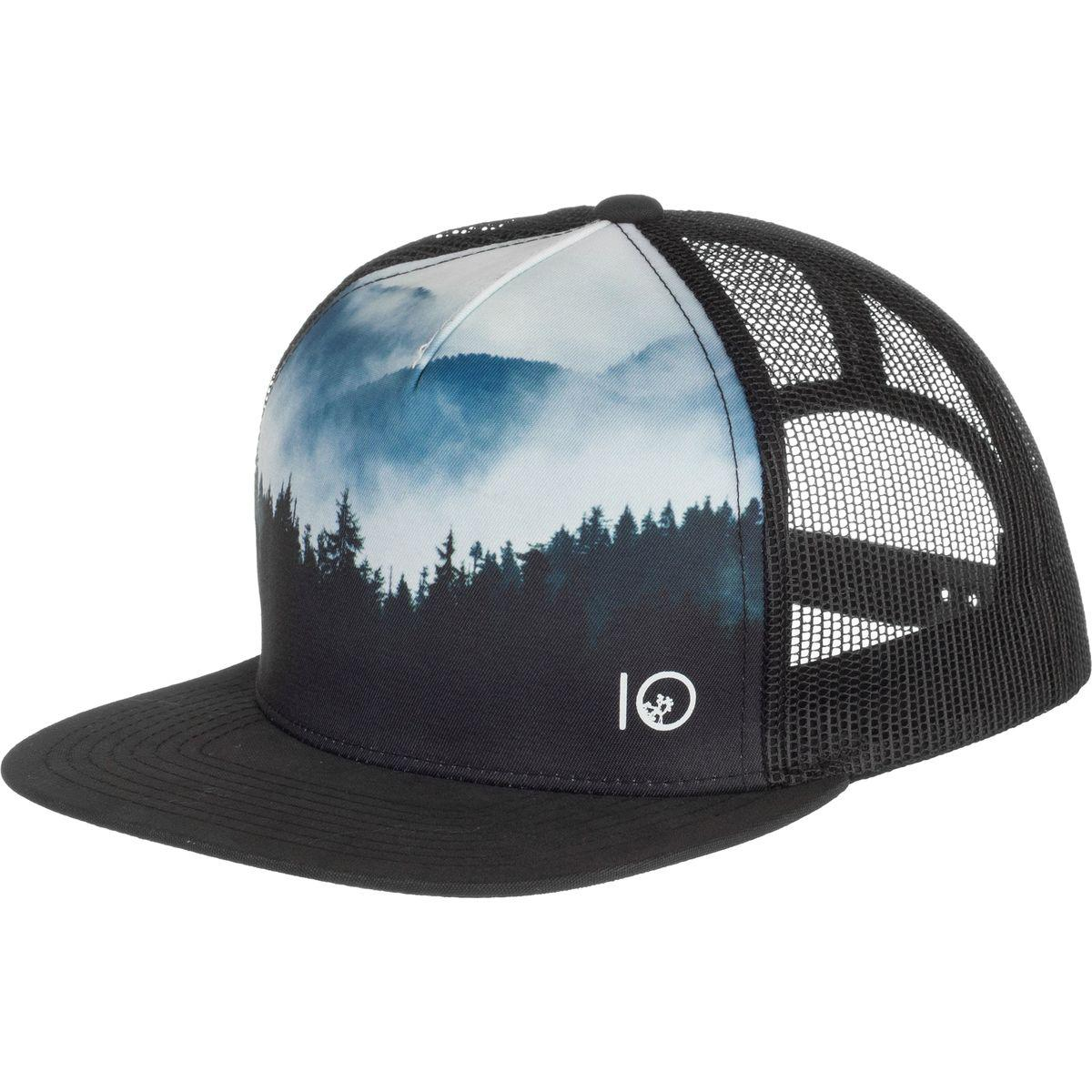 1fc400a9cc1bd ... coupon lyst tentree outlook trucker hat in black for men ccedd 9fe61