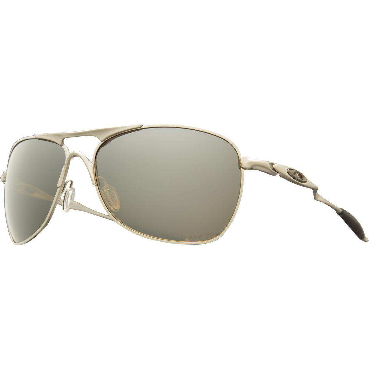 f9e2291628 Lyst - Oakley Titanium Crosshair Sunglasses - Polarized in Gray for Men