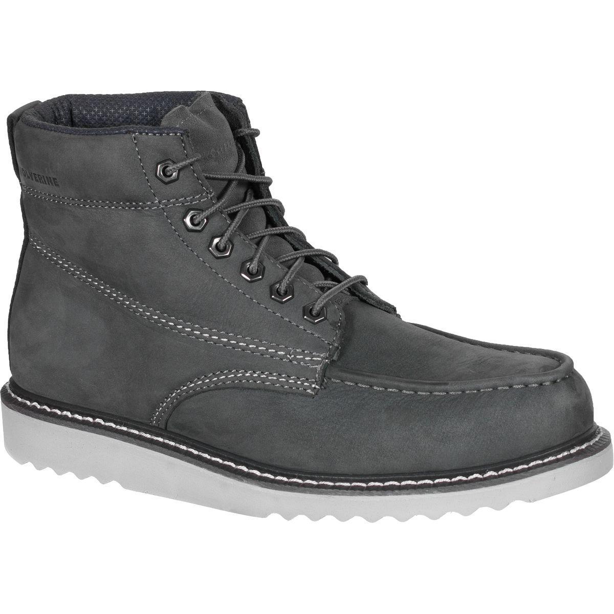 44ffca5d072 Wolverine Gray Ranger Moc Toe Boot for men