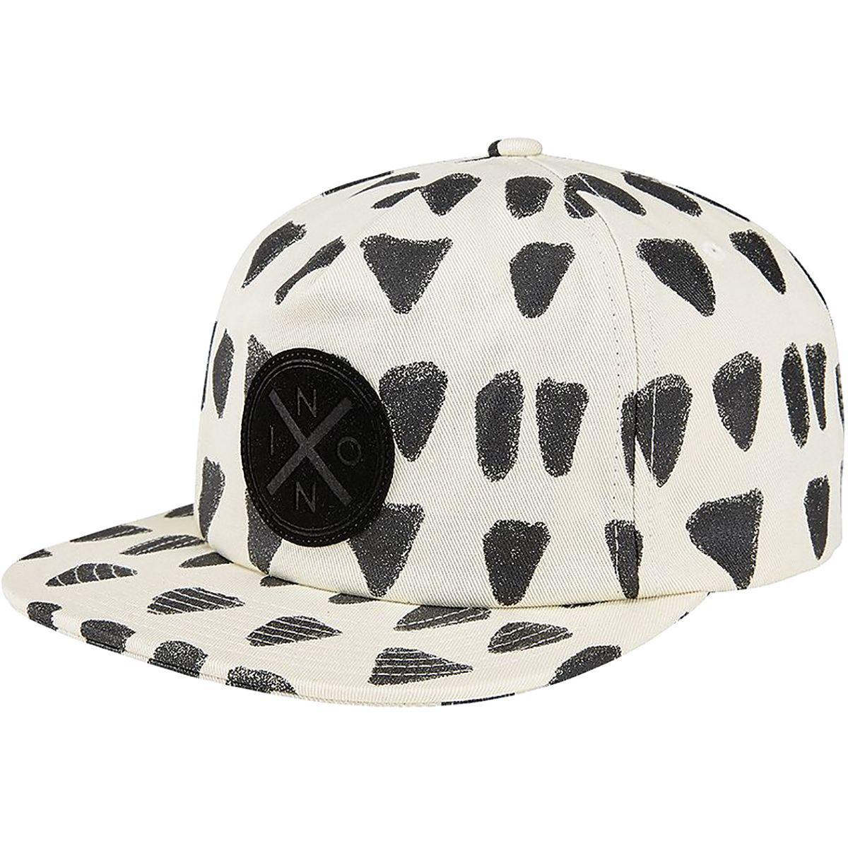 Lyst - Nixon Beachside Snap Back Hat in Black for Men 3727b6581f60