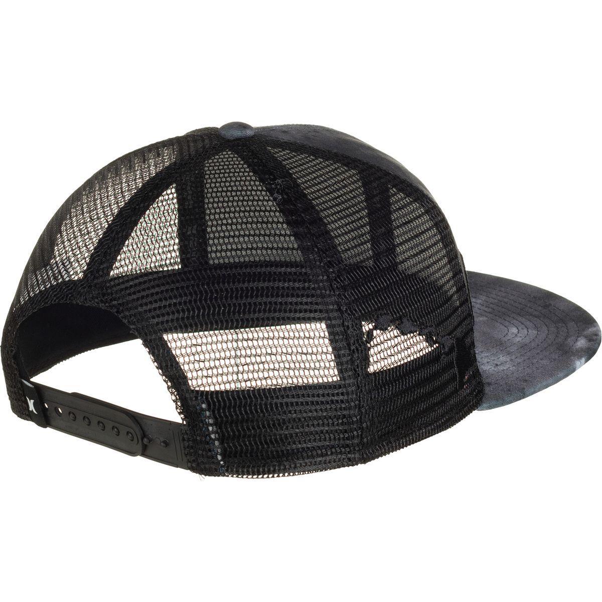 18a0e5a51 Hurley Black Jjf Iii Nebula Aloha Trucker Hat for men