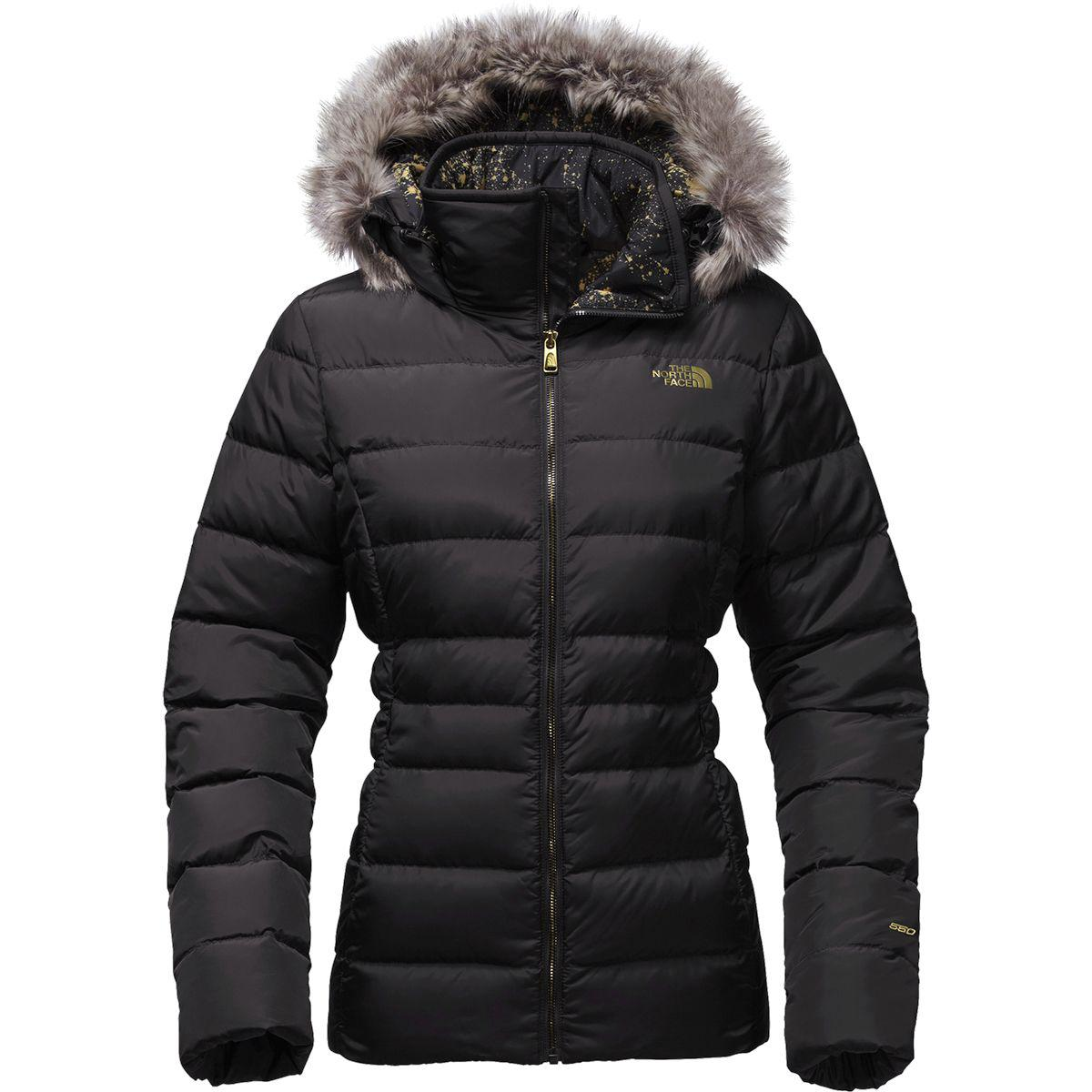 43205d24c027 ... best price the north face. womens black gotham ii hooded down jacket  dde5a 86a09
