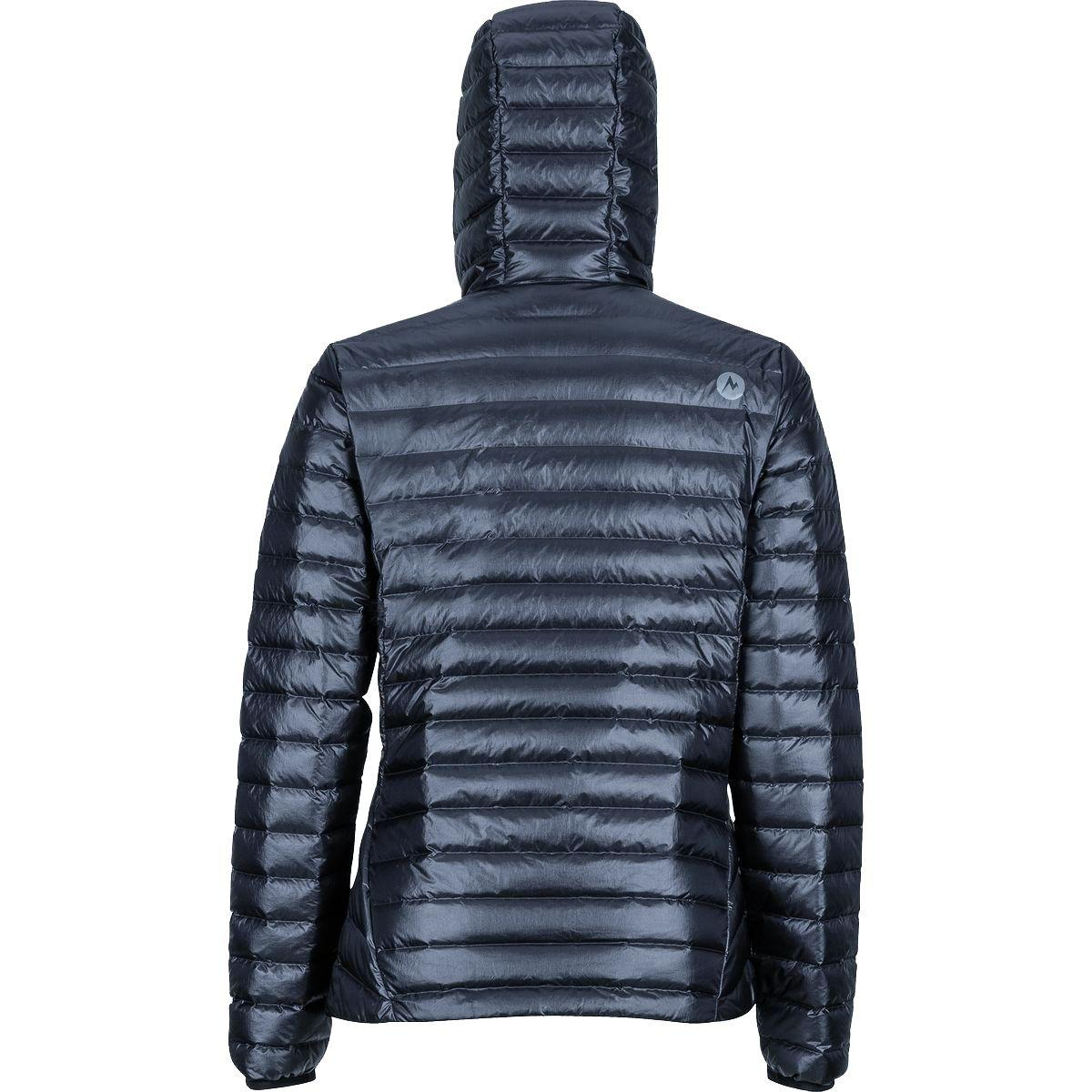 Marmot Synthetic Quasar Nova Hooded Down Jacket in Black ...