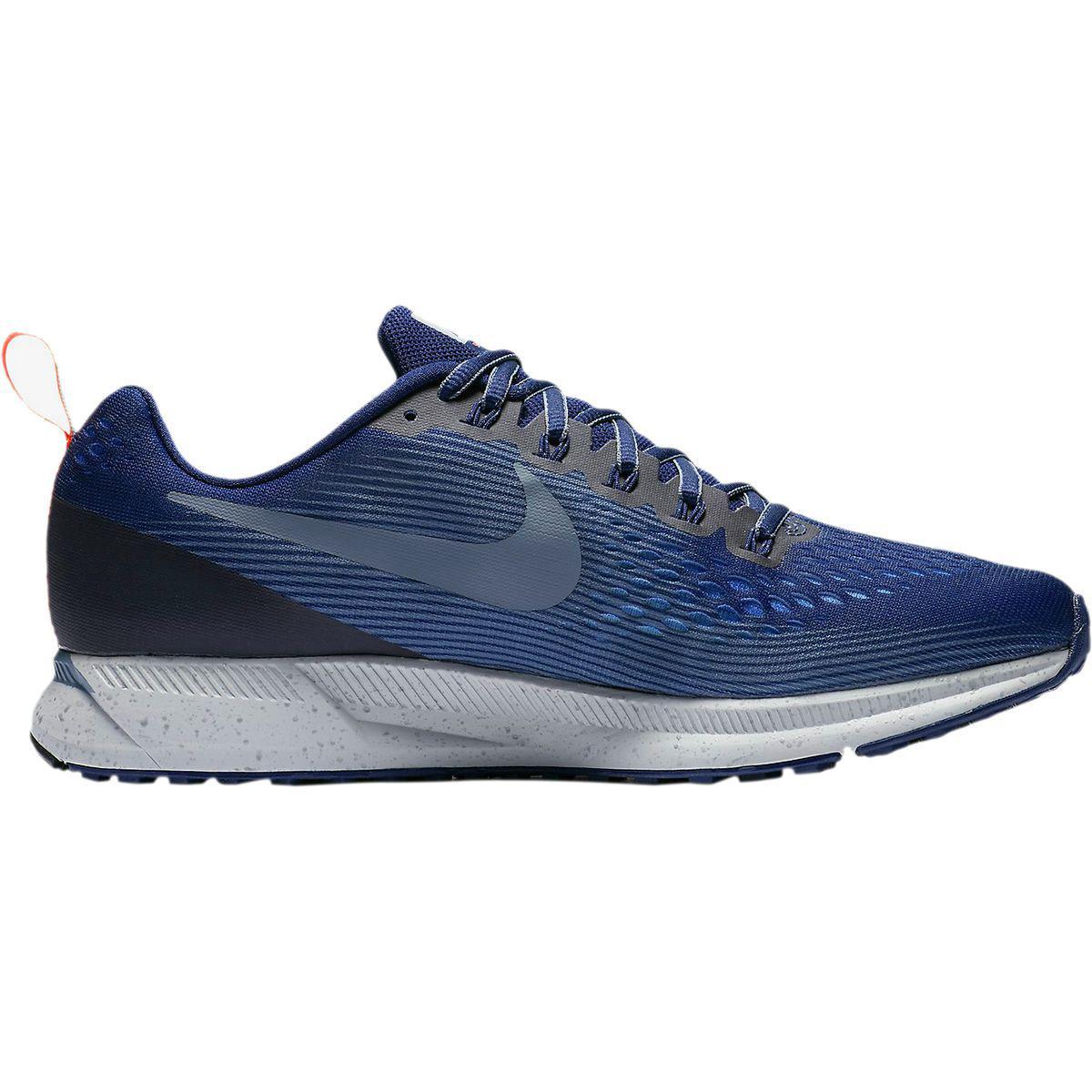 933b2167d2104 Lyst - Nike Air Zoom Pegasus 34 Shield Running Shoe in Blue for Men