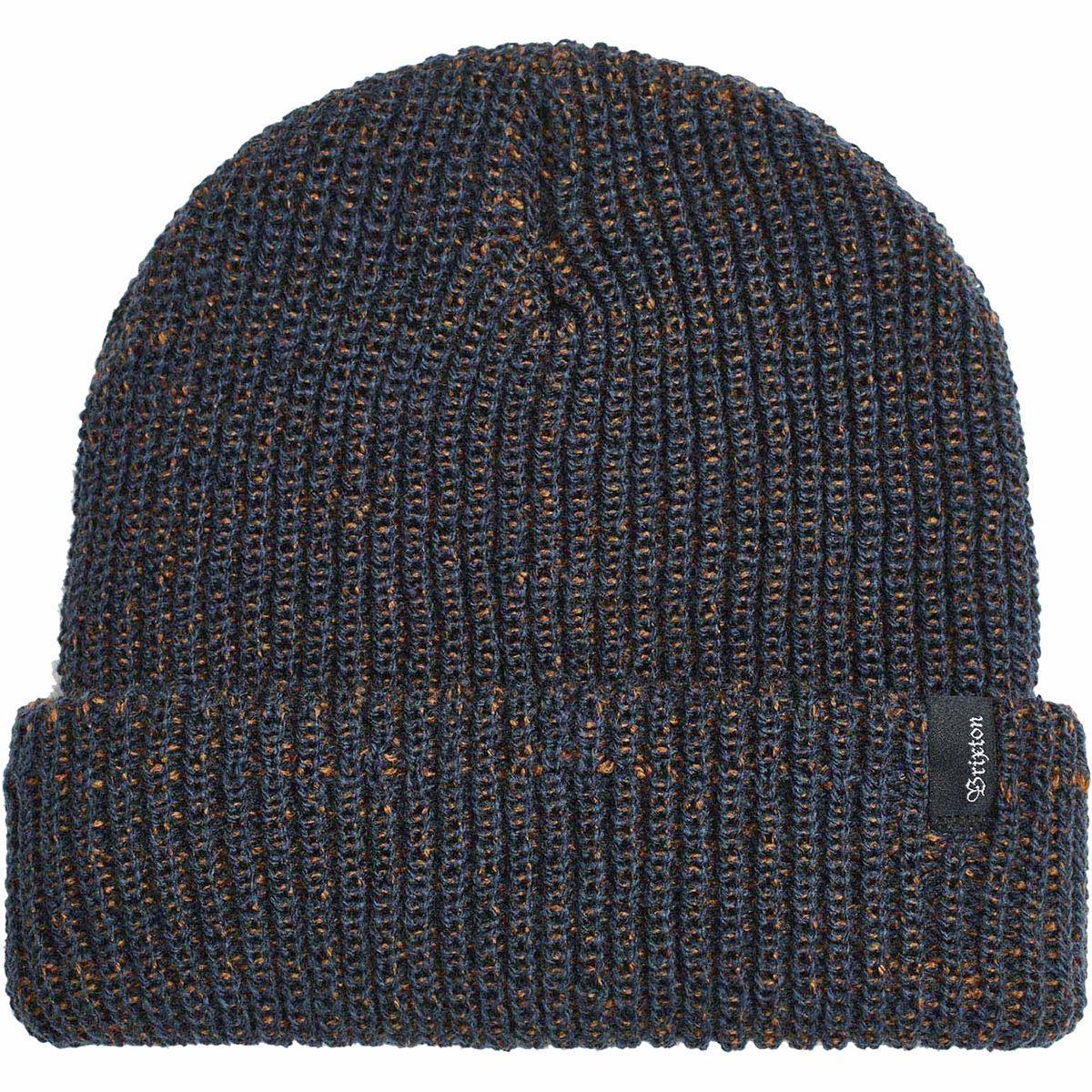 Washed Navy Heist Beanie Hat