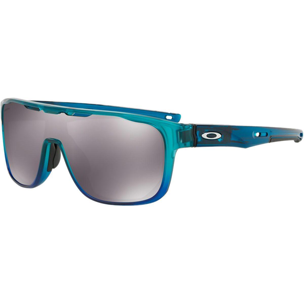 74ddb157aa ... authentic lyst oakley crossrange shield prizm sunglasses in blue for men  e2b1f 65d1a