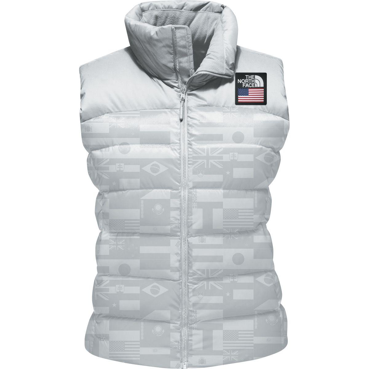 cecfba1ad1 Lyst - The North Face International Collection Nuptse Vest in Gray