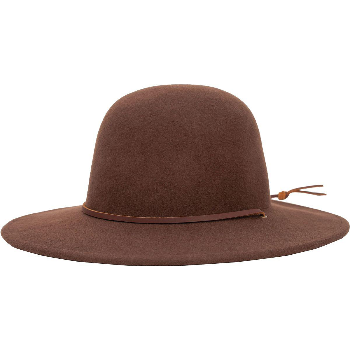 3bdecf13d9 Brixton Brown Tiller Hat