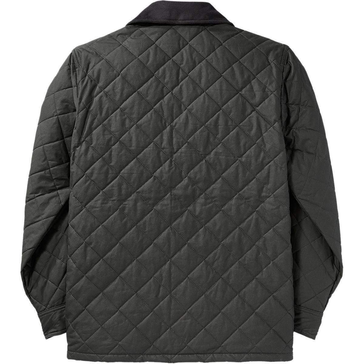 Filson Quilted Mile Marker Jacket In Gray For Men Lyst