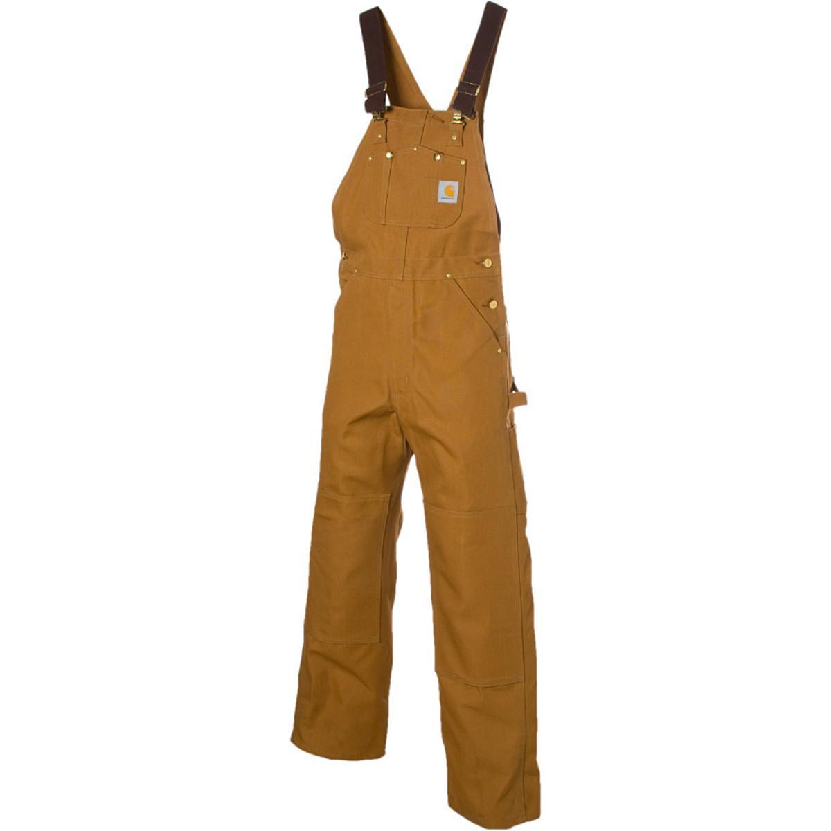 8129c790b6 Lyst - Carhartt Duck Bib Overall Pant in Brown for Men