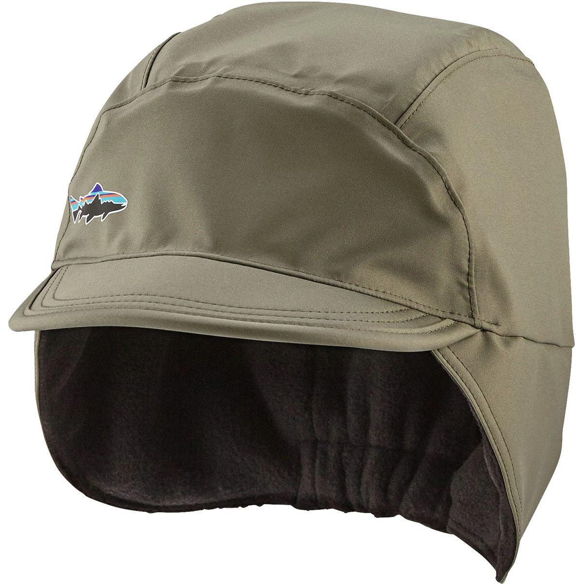 b93f2dacc61 Lyst - Patagonia Water Resistant Shelled Synchilla Cap in Green for Men