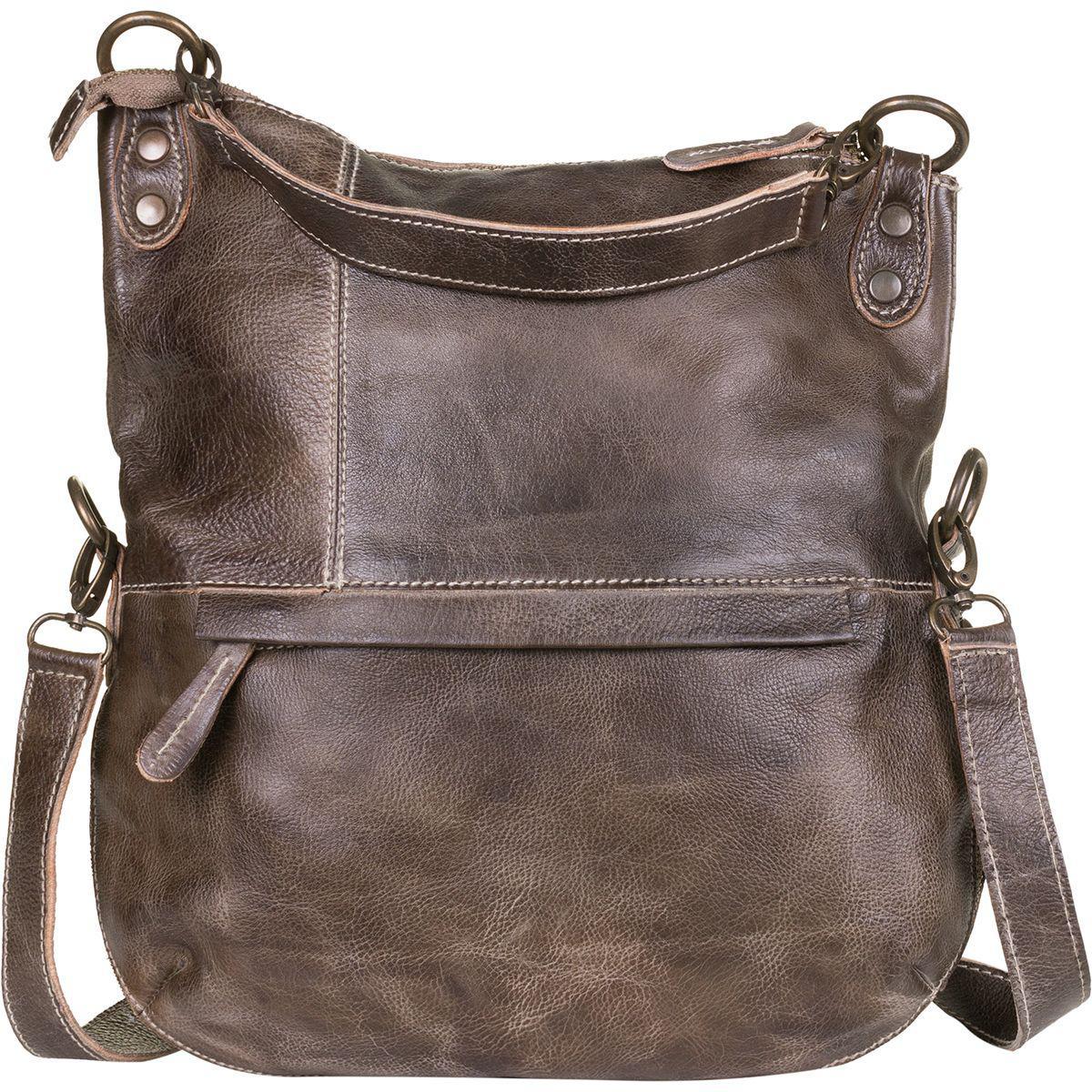 4f97cd3d45 Lyst - Bed Stu Tahiti Foldover Crossbody Bag in Brown