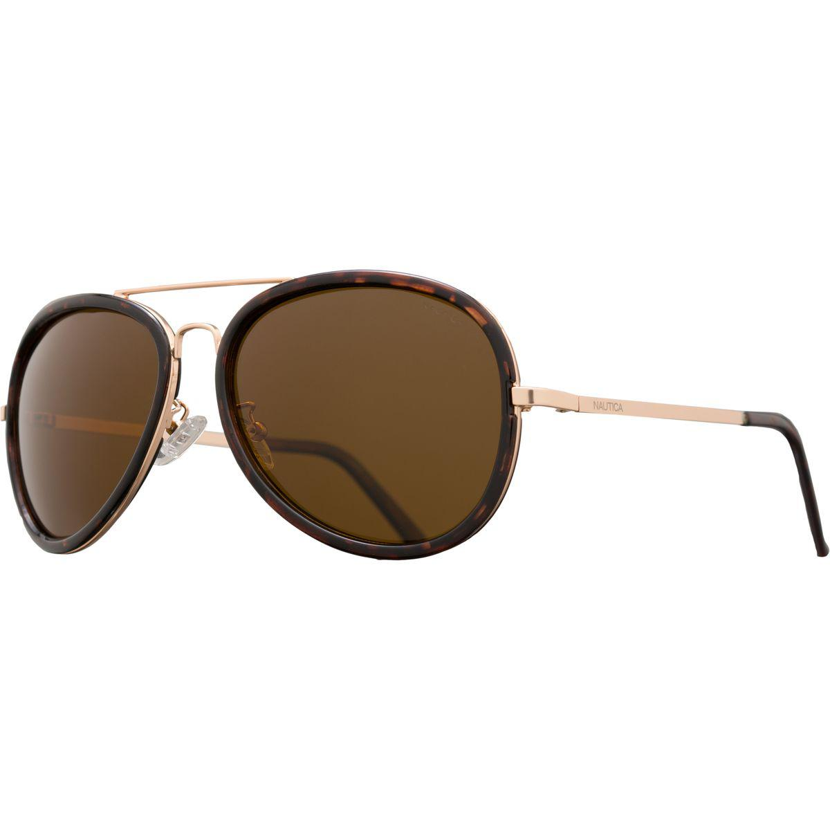26fd7a8c8e Lyst - Nautica N4612sp Polarized Sunglasses in Brown for Men