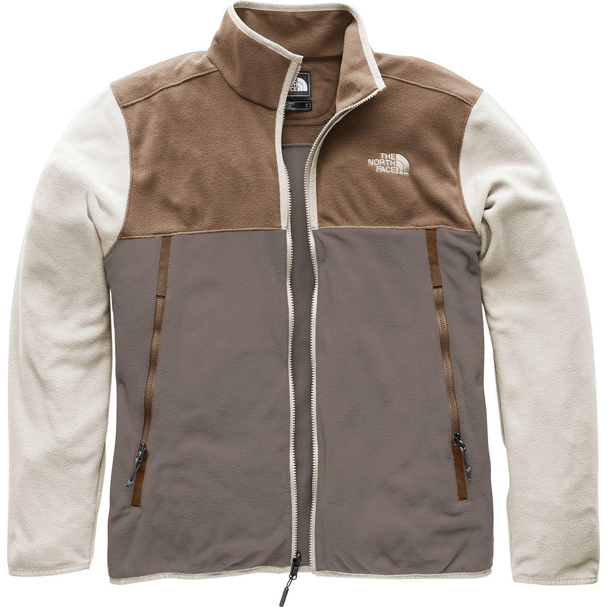 00229feab995 Lyst - The North Face Glacier Alpine Fleece Jacket in Brown for Men