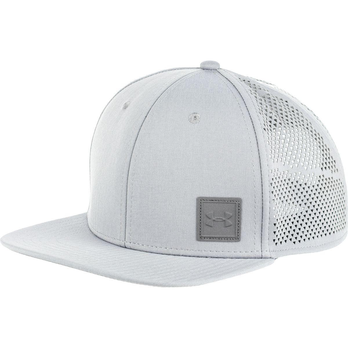 0c90a7928b3 Under Armour Supervent Flat Brim 2.0 Snapback Hat for Men - Lyst