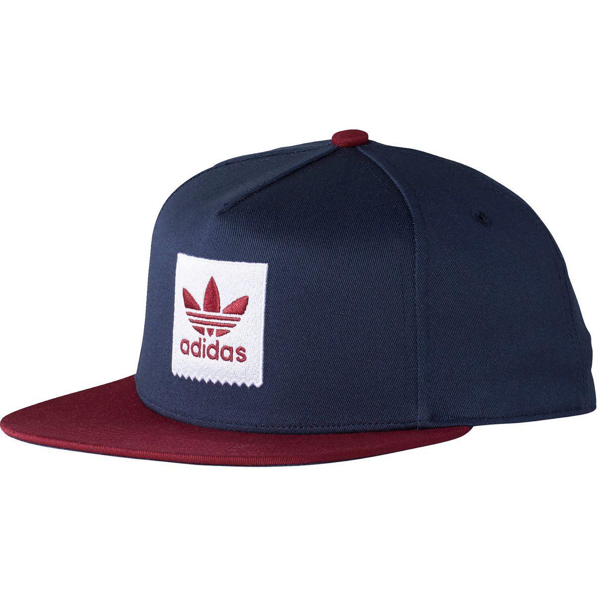 4a35924438c0c adidas Two Tone Blackbird Snapback Hat in Blue for Men - Lyst