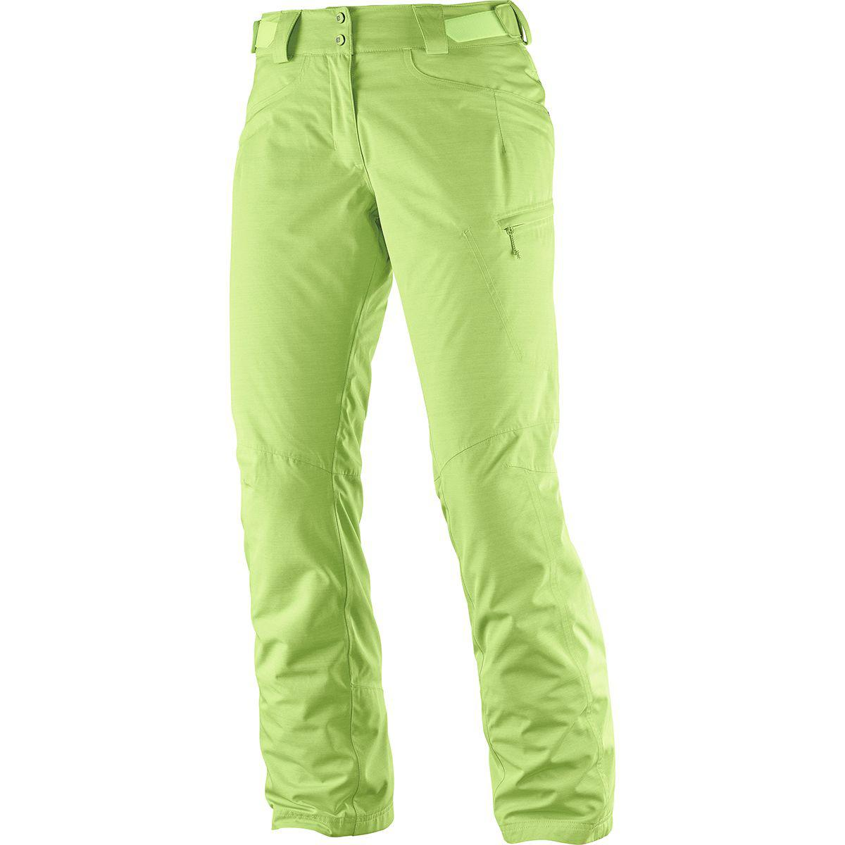 34ee9e6459 Lyst - Yves Salomon Fantasy Insulated Pant in Green
