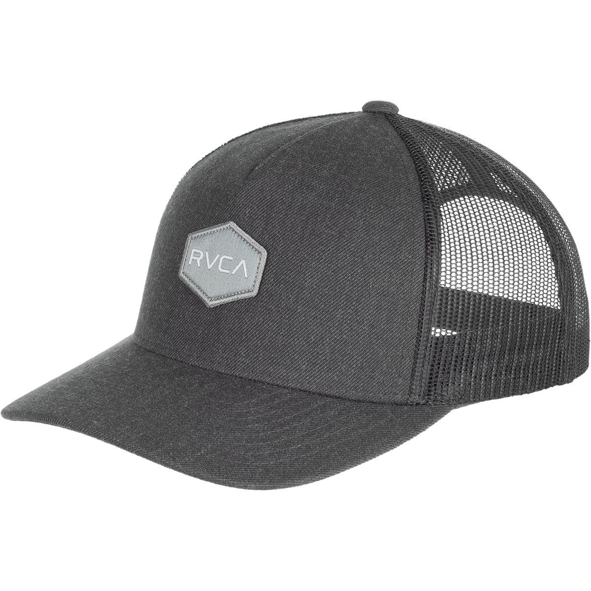 c854e1e6 inexpensive lyst rvca commonwealth trucker hat in gray for men a36a9 20d5d