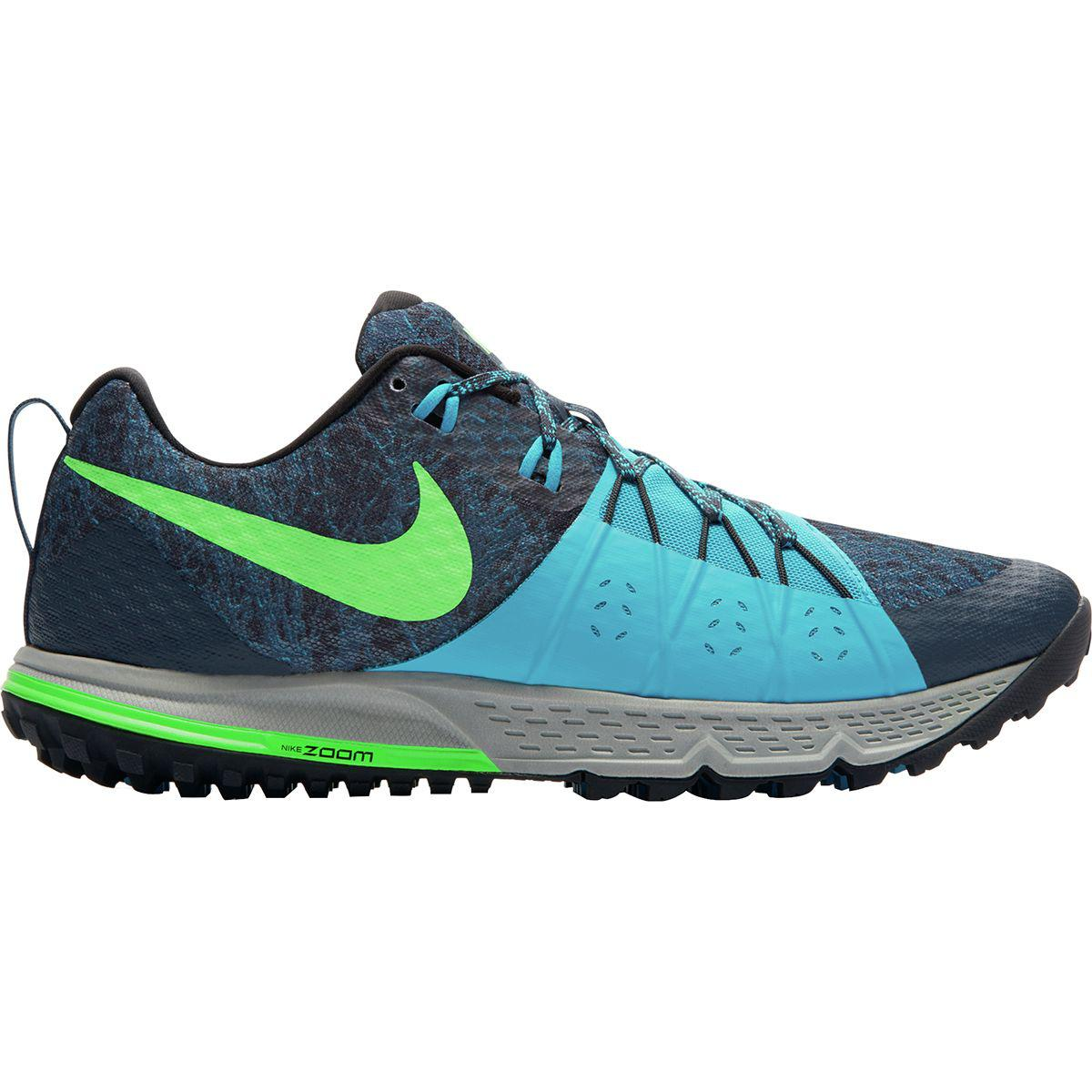 Lyst - Nike Air Zoom Wildhorse 4 Trail Running Shoe in Blue for Men 152a4256f