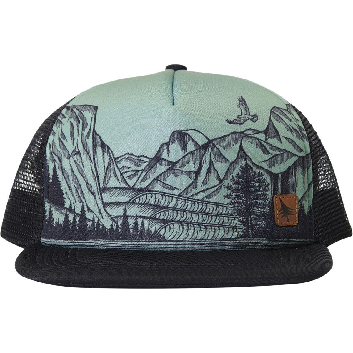 Lyst - HippyTree Yosemite Trucker Hat in Black for Men 0f5685748b80