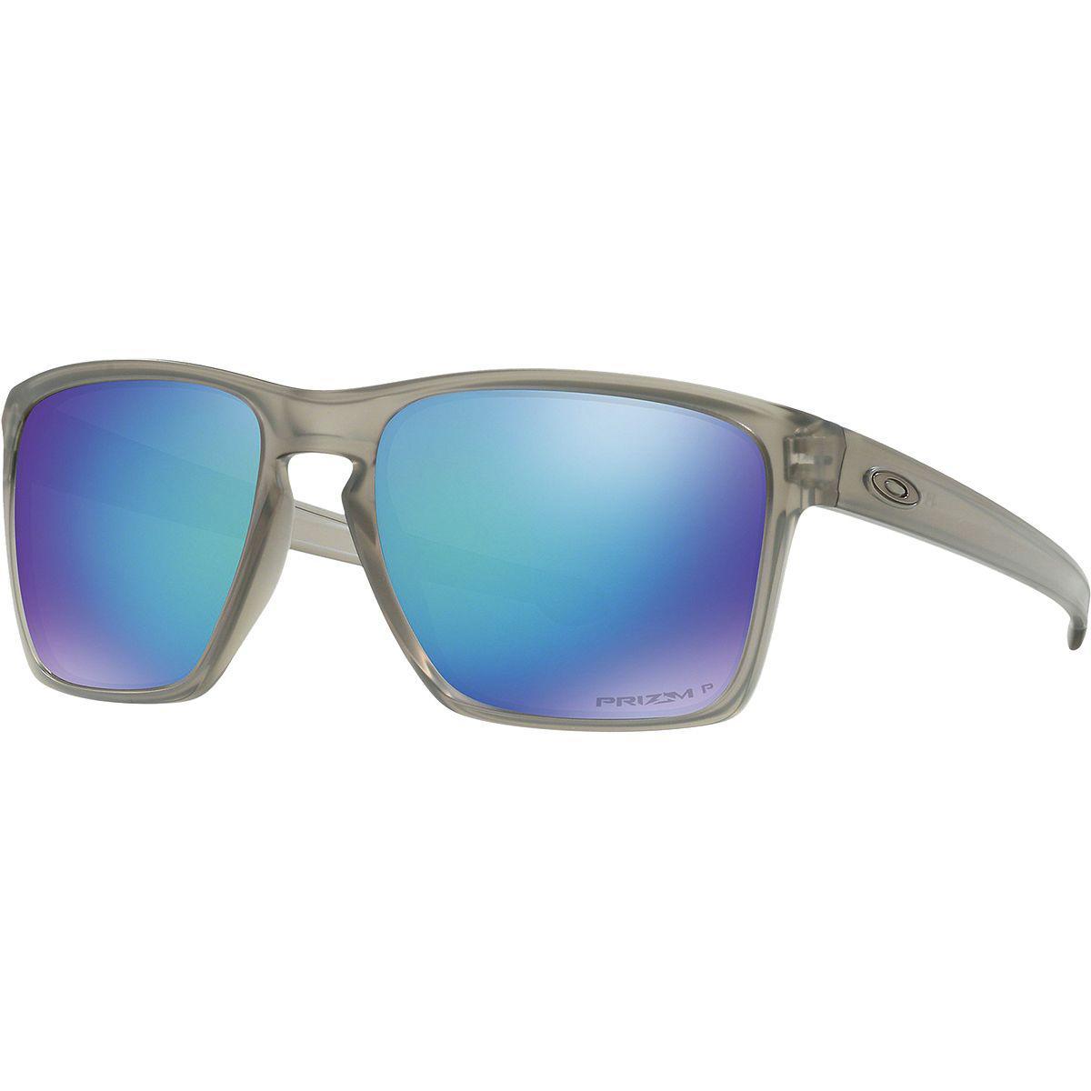 7f99d14bb0 Lyst - Oakley Sliver Prizm Polarized Sunglasses in Blue for Men