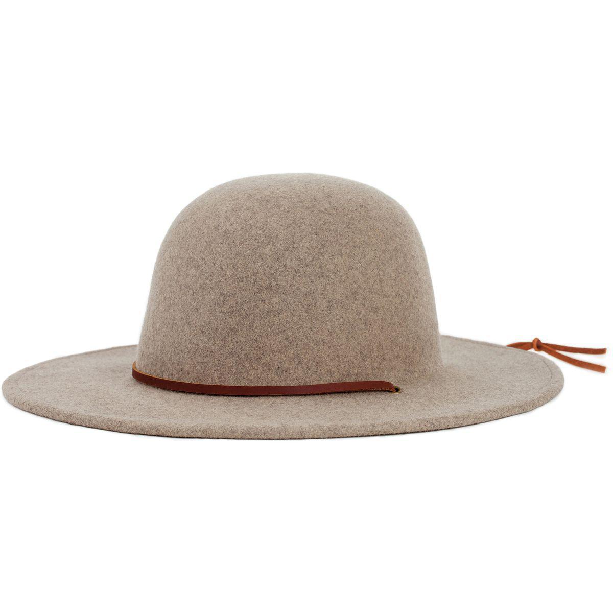 871c43b56e2c8 ... germany lyst brixton tiller hat in natural f1efa eaa96