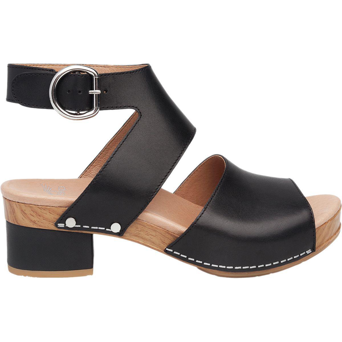 Minka Ankle Strap Block Heel Sandals cRW2pC
