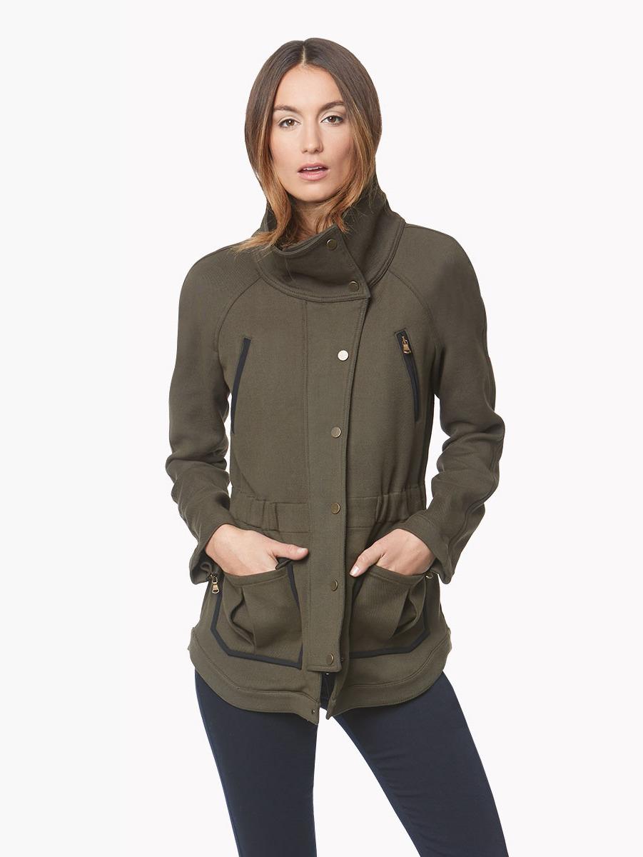 Veronica Beard Marshall Army Jacket In Green Lyst