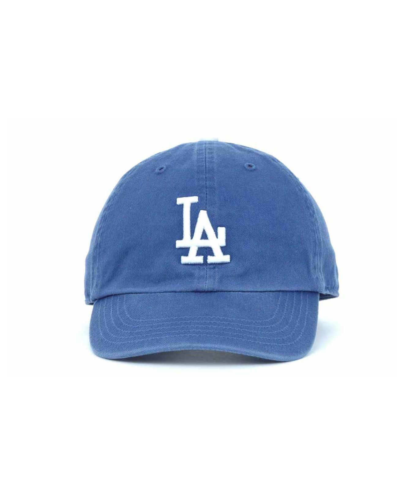 47bcffb48e8 Lyst - 47 Brand Kids  Los Angeles Dodgers Clean Up Cap in Blue for Men