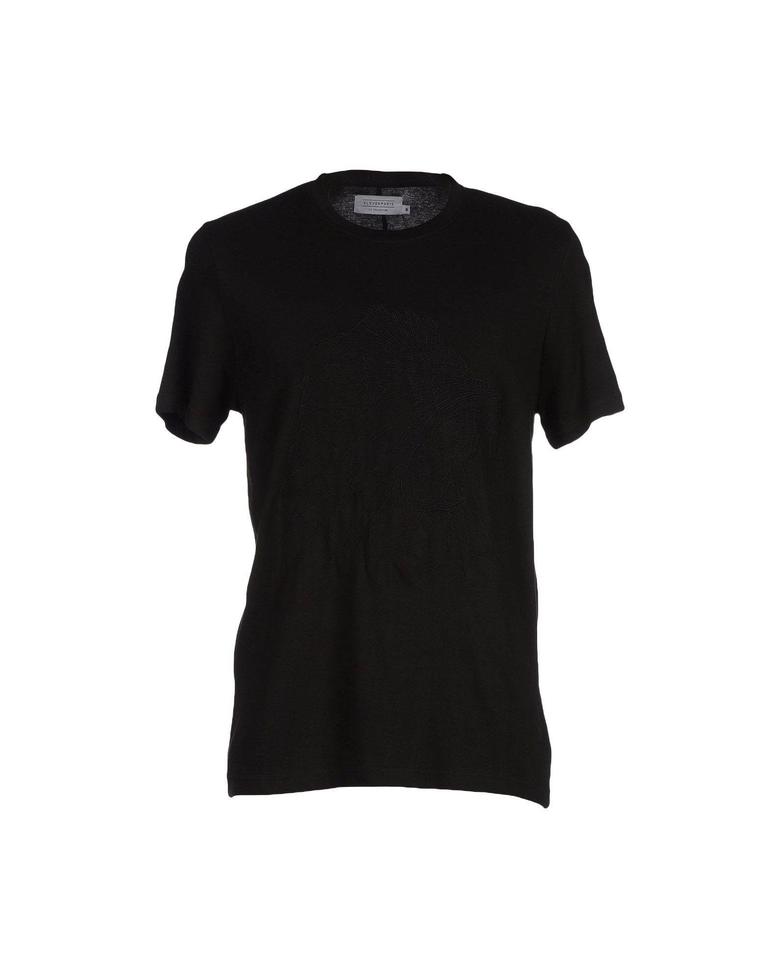 eleven paris t shirt in black for men lyst. Black Bedroom Furniture Sets. Home Design Ideas