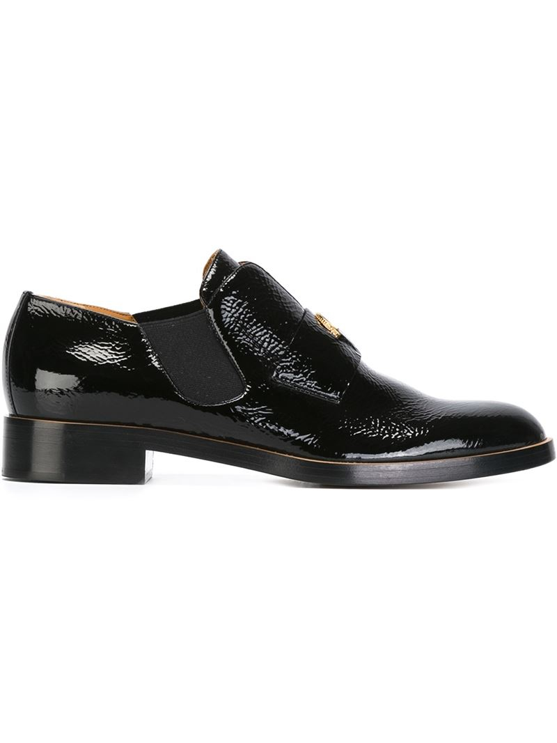 black and gold loafers mens